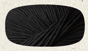 OVILLO 50GR JUST COTTON DMC. NOIR N11.