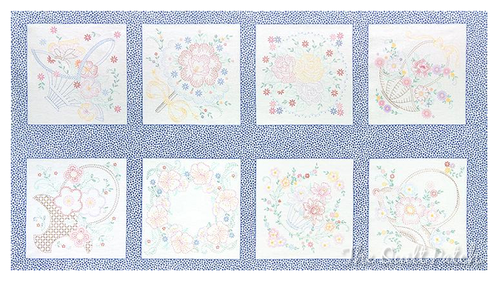 LAZY DAISY.  Panel Estampas. Ideal para bordar. 60x110 apro.