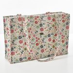 Sewing Bag. Boite in the garden. 45x30x12cm.