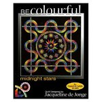 BECOLOURFUL. PATTERN BC007 MIDNIGHT STARS.