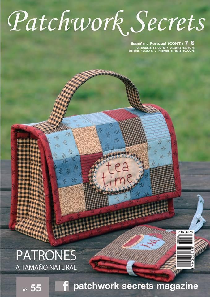 Patchwork secrets magazine n56 12 proyectos con patrones a tama o natural portada joana - Proyectos de patchwork ...