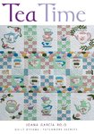 """Tea Time"" by Joana García Rojo. Book and Patterns."