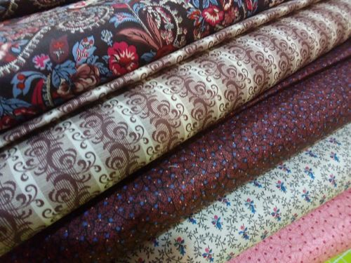 FRENCH PAISLEY. Kit of 5 fats 50x55cm each one.