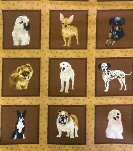 MY PET FAMILY. Panel de perros. 66 estampas de 8,5x8,5cm. 60x110cm.