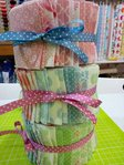 RING A ROSES.  Jelly Roll GUTTERMAN Colection. 34 units of 110cmx7cm each.